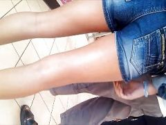 young teen butt and legs