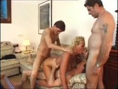 Mature Plump Gets DP