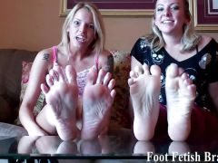 Foot fetish brats compilation
