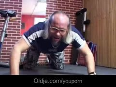 Old on young sex workout