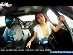 Sexy girls in the car - YouTube