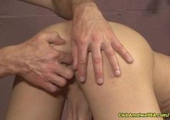 Ball Squeezing Cock Milking