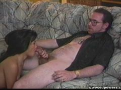 Asian cunt munched and fucked by a white dude