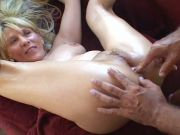 Another slender mature blonde