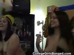 Drinking Games At College Party Turn In To Oral Sex