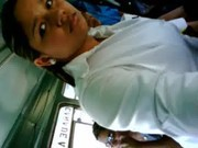 Bus  young girl grope