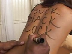 Dusty deville black cock sucked and written upon