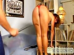 Sexy Amateur Ass Spanked