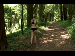 Madison Page nude in the woods