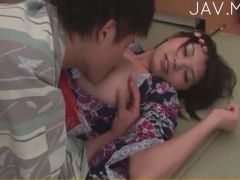 Sweet Asian teen delights with wanton pecker sucking