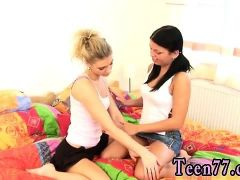 Lesbian foot domination Girlfriends toying each other