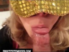 Super Milf Hooker no hands blowjob & sw