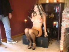 Bound Blond babe hot milf