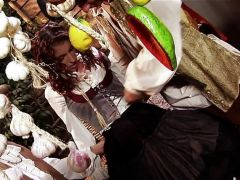 Brandi lyons\' pirate double penetration