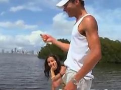 Teen at the boat - Teen video
