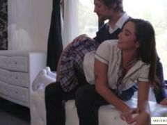 Pretty hot Karlee Grey and Jean Val Jean in a hardcore fucking session