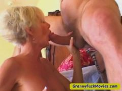 Old blond and verry horny