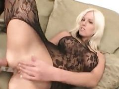 Teen Blonde Taking Didolo In Her Loose Pussy