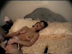 Dilettante Honey Masturbating