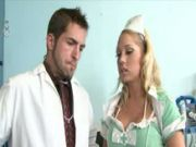 Gang bang Three Some in the clinic