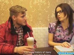 Euro spex teen fucked and orally pleased