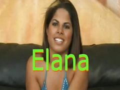 Latina Elana abused