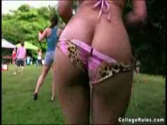 Naked college girls in the park