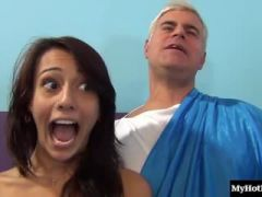 Janice Griffith has always had a thing for older men, so when this