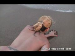 Naked and sex on the beach