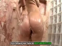 London Keyes Fucked In The Shower...