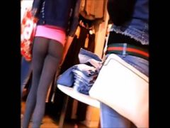Spandex Teen Show - Great Little Ass In The City