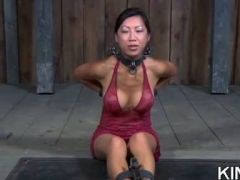 Bondage Babe Shows Fear