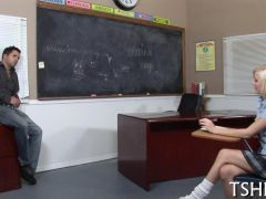 Hard test for schoolgirls blowjob 19