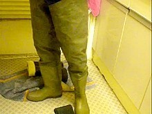 nlboots - green waders (request)