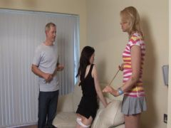 Spanked Hard by two People