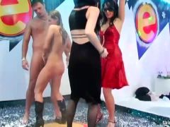 Erotic pornstars dancing naked