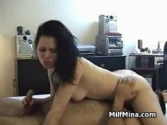 Fucking my hot wife doggystyle