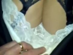 Super-duper seductive non-professional honey lets me employ an upskirt clip