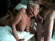 Hot mom face fucked homemade