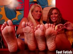 Foot fetish fun compilation