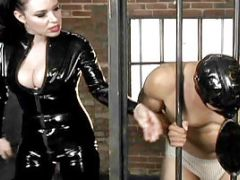 BDSM Video Featuring Black-haired Young Anastasia Pierce