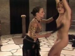 Bondage Action Of An Awesome-titted Tramp