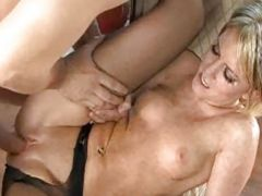 Shaved Pussy Getting Satisfied