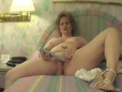 Having fun with vibrator