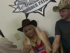 Jenna Lovely Is A Hot Sleaze American Cowgirl