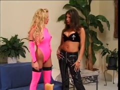 Bigtitted Bridgett Kerkove and Shay Sights Toyplay in Boots