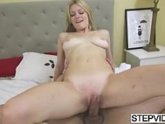 Alli Rae gets filled up by stepbro
