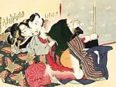 Japanese Couple Have Erotic Fun In Picture Book