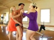 Kimberly And Adrianna Stripping The Instructor