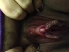 Biggest wet crack with big spread lips and corpulent clitoris